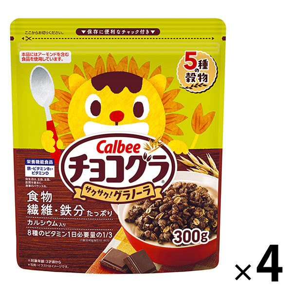 カルビー チョコグラ 300g 4袋