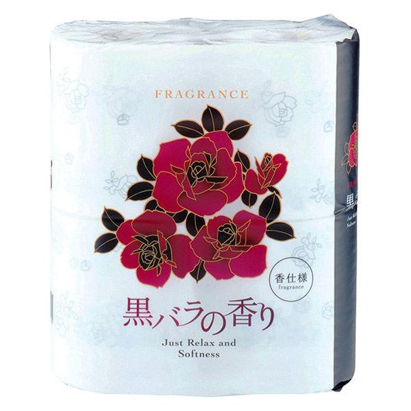 黒バラの香り 4ロール ダブル 香付き
