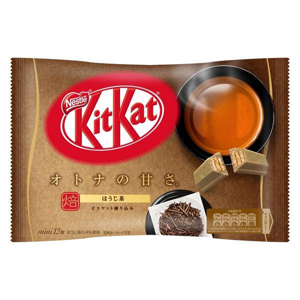 キットカットミニオトナの甘さほうじ茶1袋