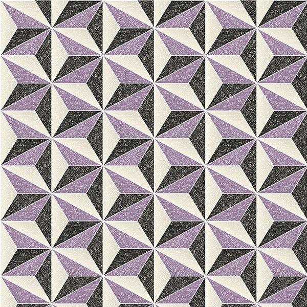 アスクル】みはし 3D壁紙 3Dクロス 幾何学模様 エンボス加工 53cm×10m ...