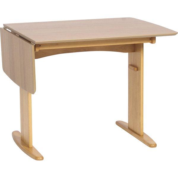 タマリビング バターシリーズ ダイニングテーブル バターII 幅900/1200×奥行750×高さ708mm ナチュラル 50002256 1台(直送品)