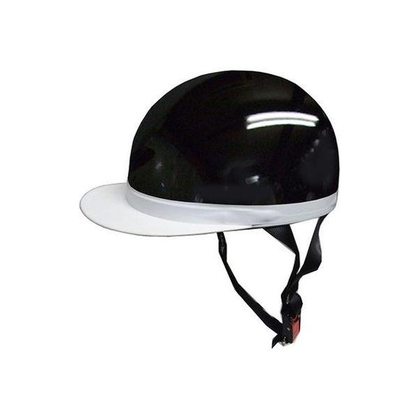 石野商会 半キャップヘルメット ブラック FS605B-BK(取寄品)