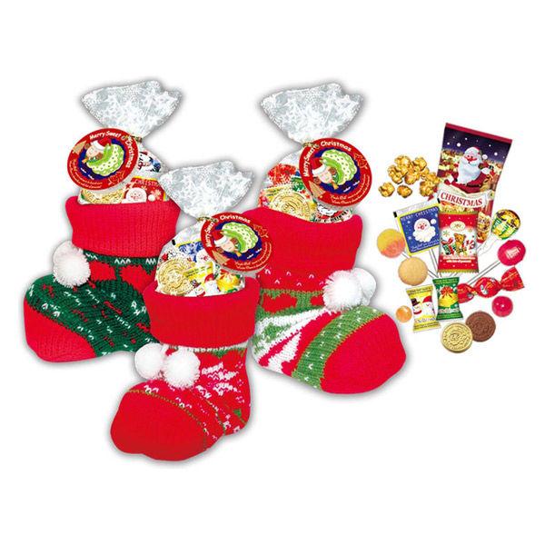クリスマス ファンシーソックスブーツM