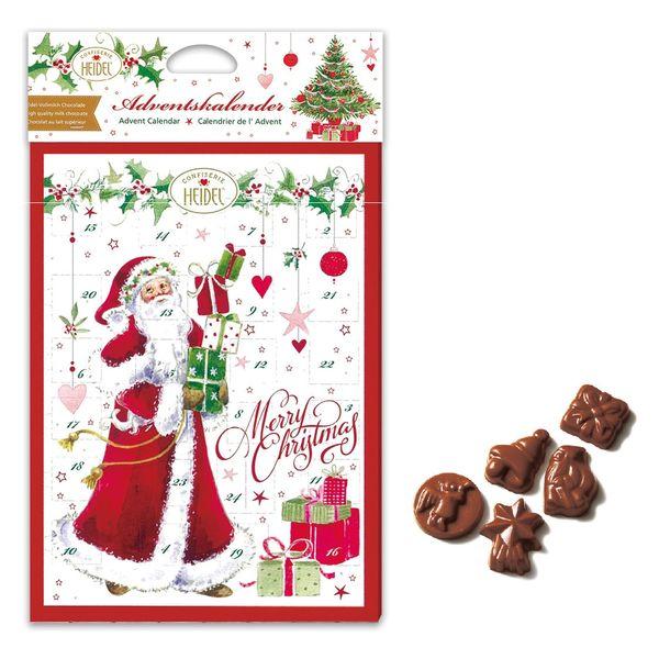 クリスマスホワイト カレンダーチョコ