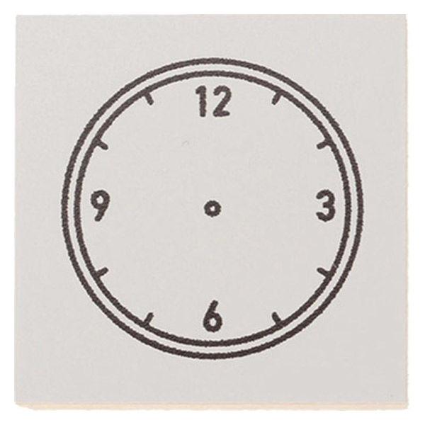 ウッドスタンプ アイコン R/時計