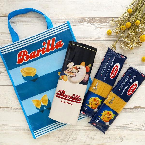 バリラ限定缶2缶&ノベルティバッグセット