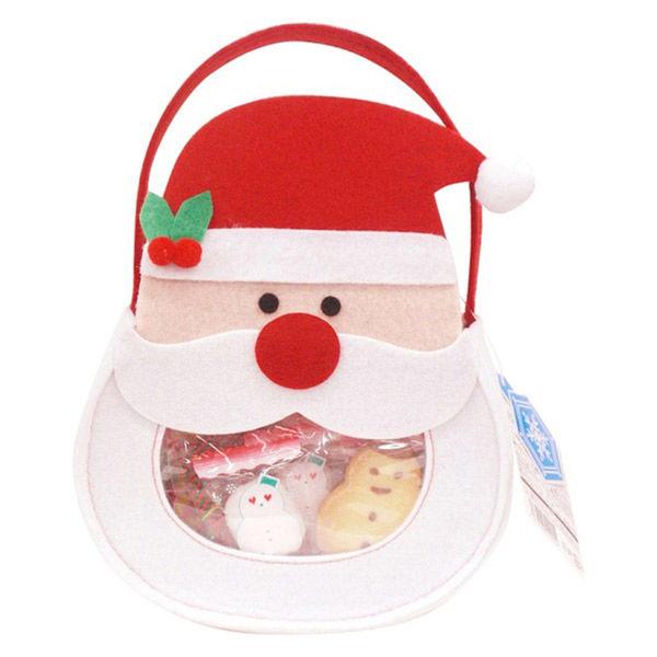 クリスマス フェルトバッグ 1個