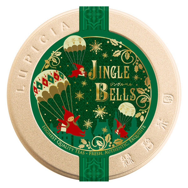 ルピシア Xmas(クリスマス)JINGLE BELLS 限定デザイン缶 1缶(50g)
