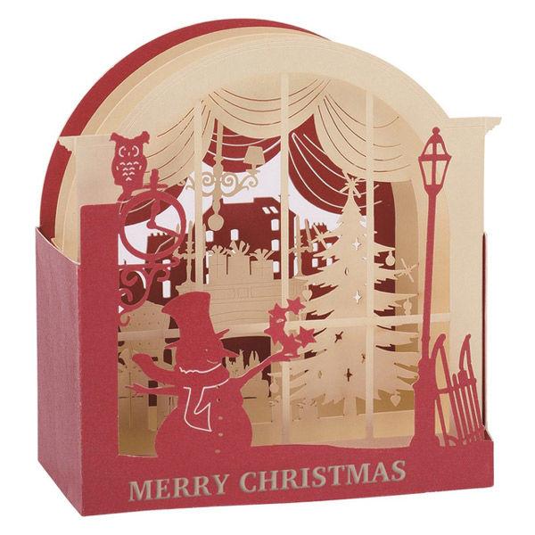 クリスマスカード スノーマン