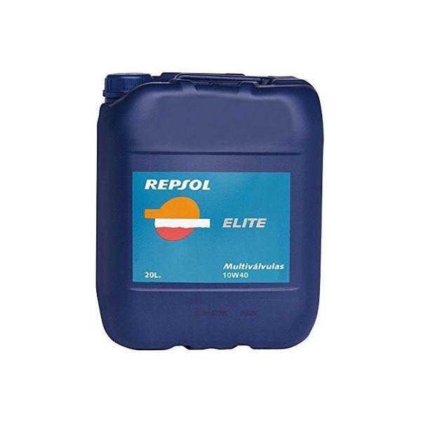REPSOL 4輪用モーターオイル 007135 レプソル エリート マルチバルブ 10W40 SM/CF 20L(直送品)