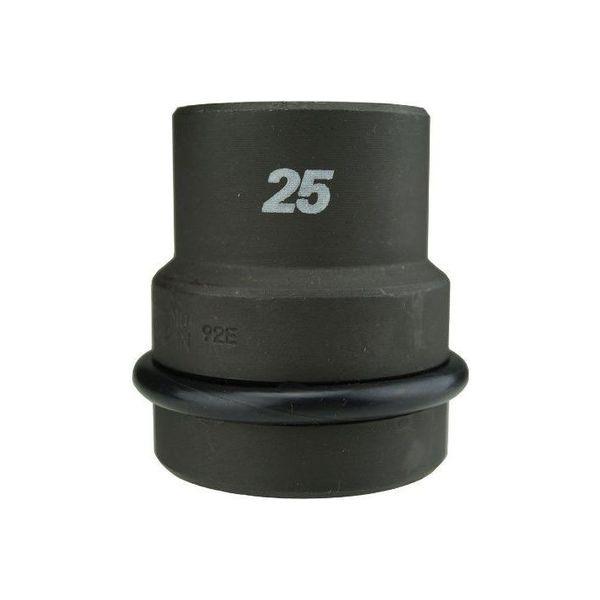 フラッシュツール 25.4 インパクトショートソケット 1/1WS-25(直送品)