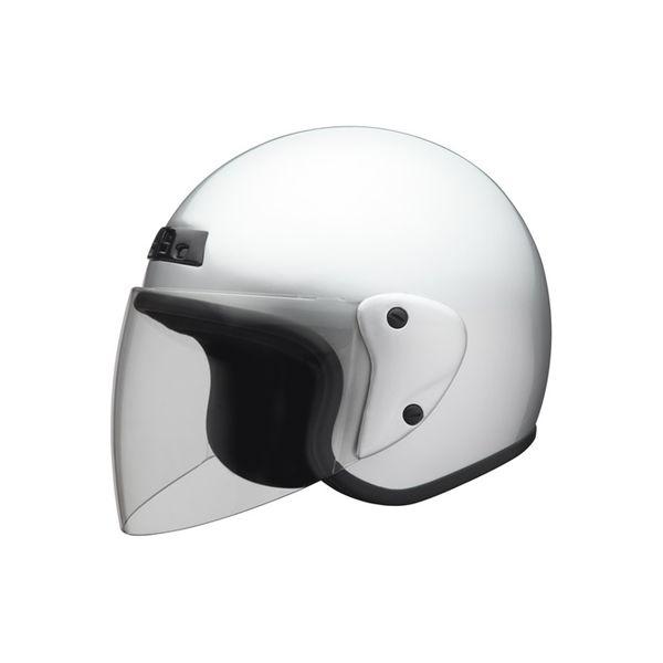 ユニカー工業 ジェットヘルメット シルバー フリーサイズ BH-30S(直送品)
