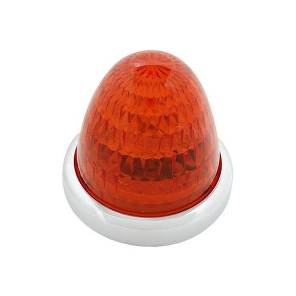 YAC 槌屋ヤック LEDマーカーランプ 彩光流星マーカー アンバー/アンバー(光) CE-132(直送品)