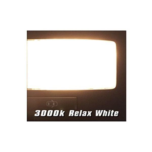 RACING GEAR LEDルームランプ トヨタ ハリアー専用 フロントマップ 3000K 1個(直送品)
