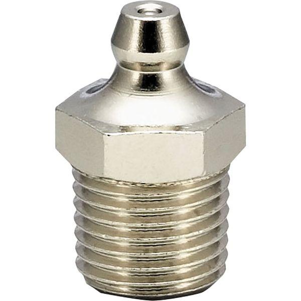 プロスタイルツール(PROSTYLE TOOL) 黄銅メッキ付グリースニップル A型 PF1/4 NGA-22K 1箱(100個入)(直送品)