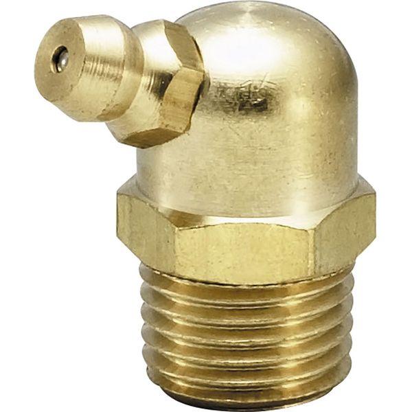 プロスタイルツール(PROSTYLE TOOL) 黄銅生地グリースニップル B型 PT1/8 NGB-01Y 1箱(100個入)(直送品)