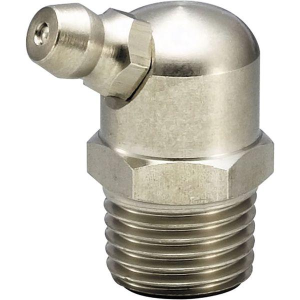 プロスタイルツール(PROSTYLE TOOL) ステンレスグリースニップル B型 1/4x28UNF 1/16テーパー NGB-0228S 1個(直送品)