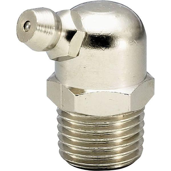 プロスタイルツール(PROSTYLE TOOL) 黄銅メッキ付グリースニップル B型 PT3/8 NGB-03K 1箱(10個入)(直送品)