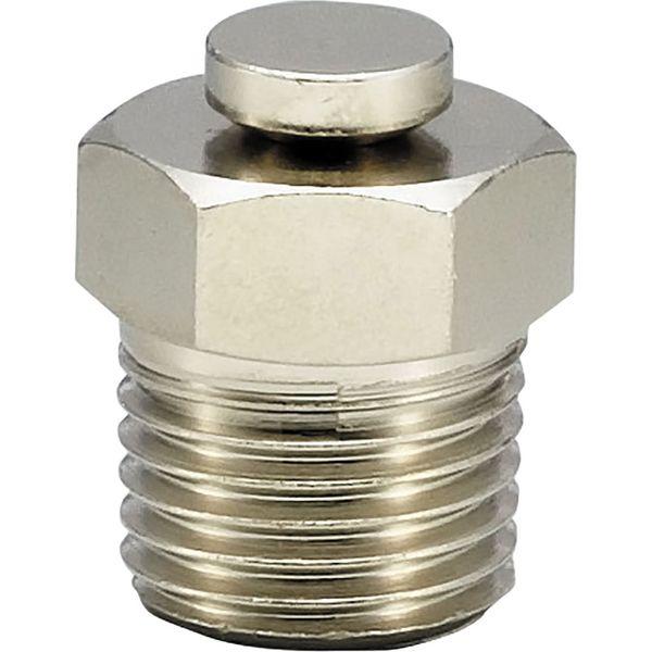 プロスタイルツール(PROSTYLE TOOL) リリーフニップル黄銅メッキ付 PT1/4 NRN-02K 1箱(10個入)(直送品)
