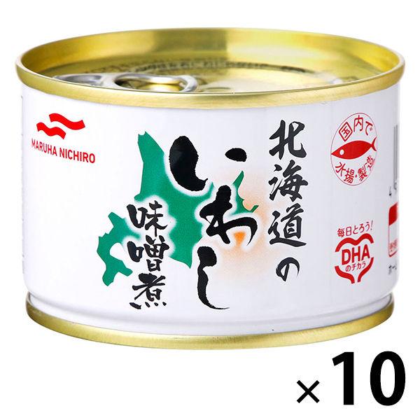 マルハニチロ 釧路のいわしみそ煮 10缶