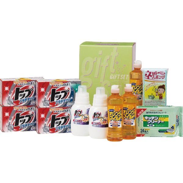 丸康 NEWランドリー&キッチンセット 洗剤・バラエティギフト TOP-50B ギフト包装(直送品)