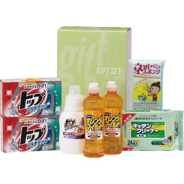 丸康 NEWランドリー&キッチンセット 洗剤・バラエティギフト TOP-30B ギフト包装(直送品)