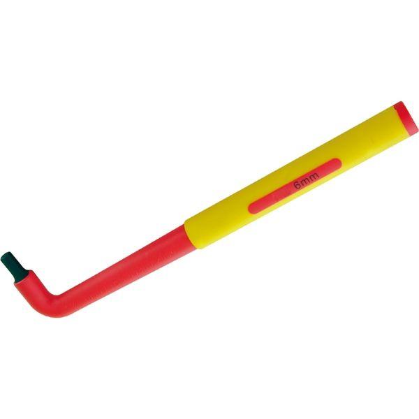 プロスタイルツール(PROSTYLE TOOL) 絶縁六角棒レンチ 5.0mm PZLH-5 1本(直送品)