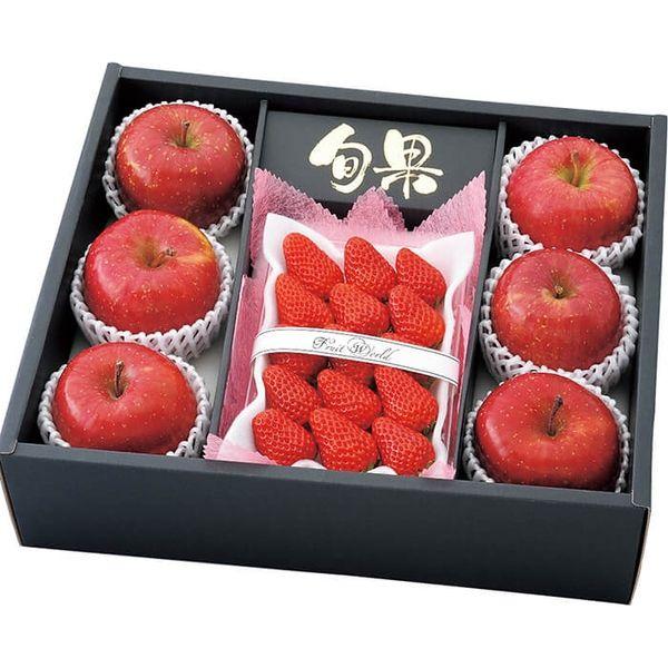 静岡県産べにほっぺ青森県産サンフジりんご