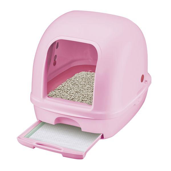 デオトイレ フード付 本体セット ピンク