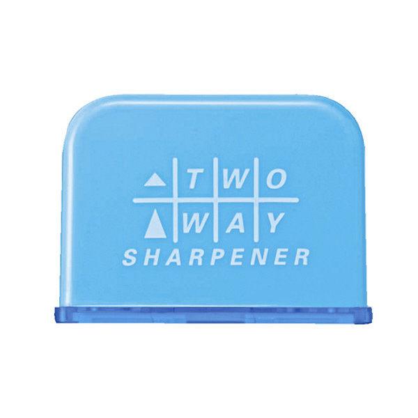 クツワ 2Wayシャープナー(ライトブルー) RS023LB 5個 (直送品)