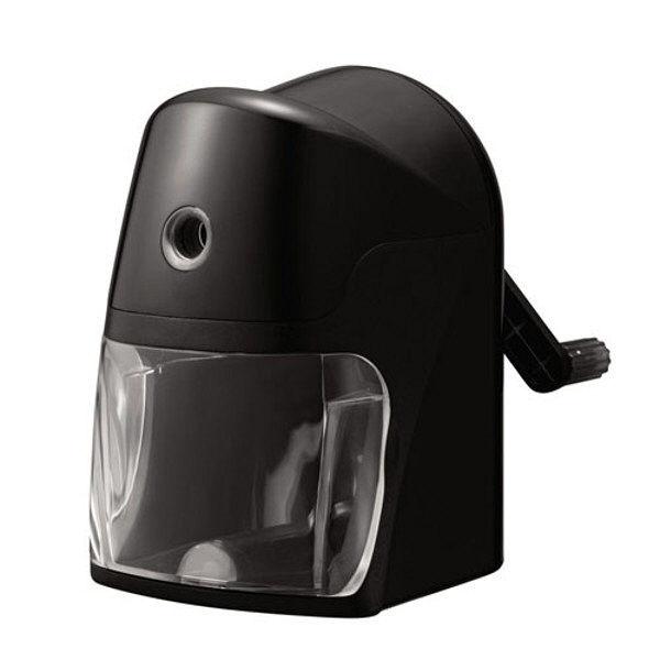 クツワ スーパー安全えんぴつけずり(ブラック) RS025BK 1個 (直送品)