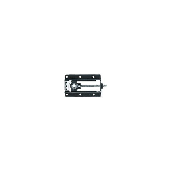 NTN 軸受ユニット軽溝形鋼製フレーム(円筒穴形、止めねじ式)軸径45mm 全長780mm 全高192mm UCL209-40D1 819-7020(直送品)