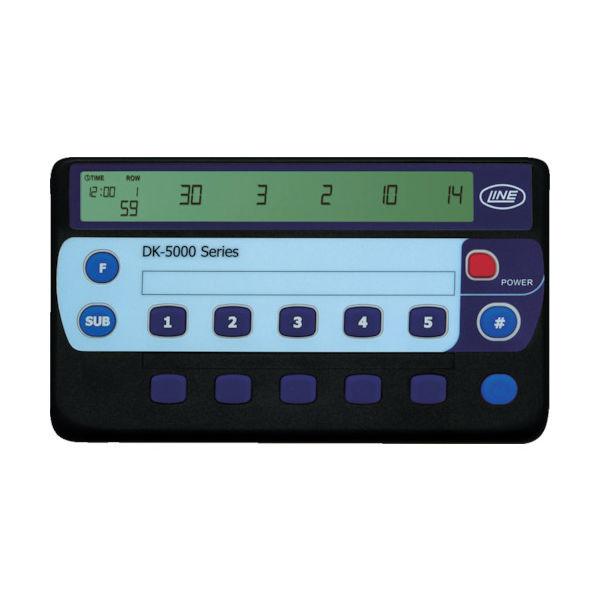 ライン精機 電子数取器 10連式 DK-5010A 1台 778-2292(直送品)