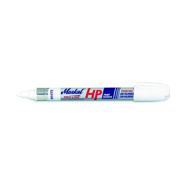 LA-CO Industries LACO Markal 工業用マーカー 「PROLINE HP」 白 96960 1本 792-6626(直送品)