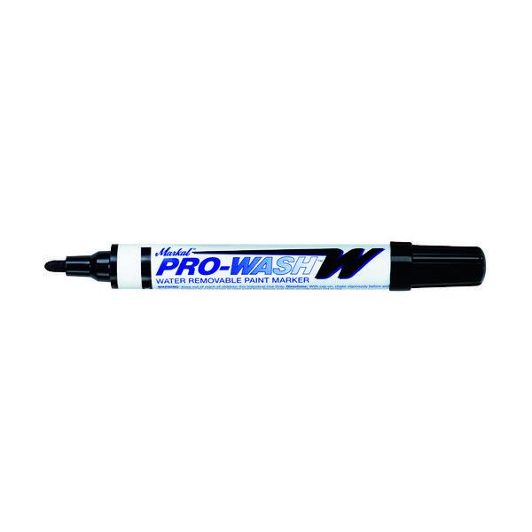 LA-CO Industries LACO Markal 工業用マーカー「PRO WASH」 黒 97033 1本 792-6731(直送品)