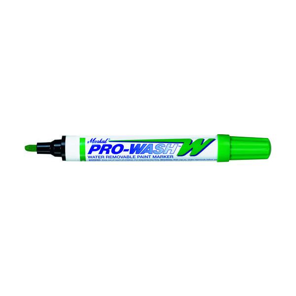 LA-CO Industries LACO Markal 工業用マーカー「PRO WASH」 緑 97036 1本 792-6758(直送品)