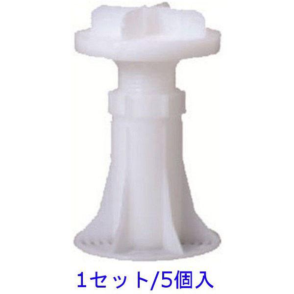 フクビ化学工業 フクビ OAフロアシリーズ OAフロア用 交点支柱7A型 1セット/5個入 (直送品)