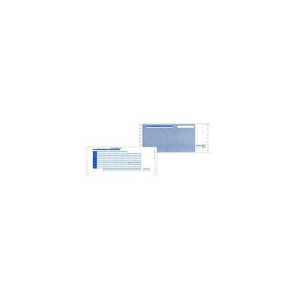 応研 支給明細書(3P封筒式)(ドットプリンタ用) 11x4 1/2インチ/500枚 KY-402 1式(直送品)