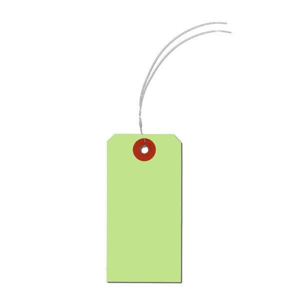 長門屋商店 カラー荷札 ウグイス 4号(中) ニ-6334 1セット(1000枚入×2) (直送品)