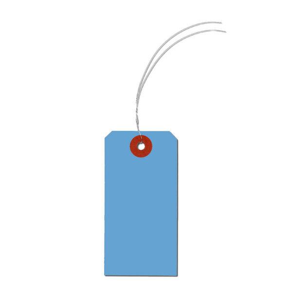 長門屋商店 カラー荷札 ブルー 4号(中) ニ-6344 1セット(1000枚入×2) (直送品)
