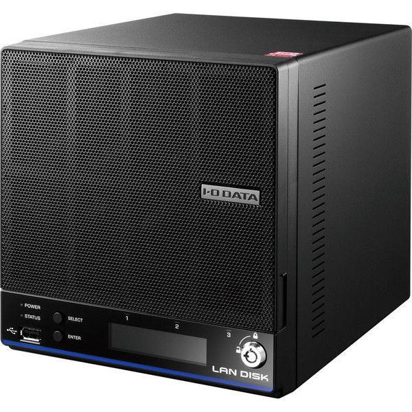 アイ・オー・データ機器 「WD Red」2基/高速CPU搭載 「拡張ボリューム」採用 高信頼2ドライブビジネスNAS 2TB HDL2-H2 1台  (直送品)