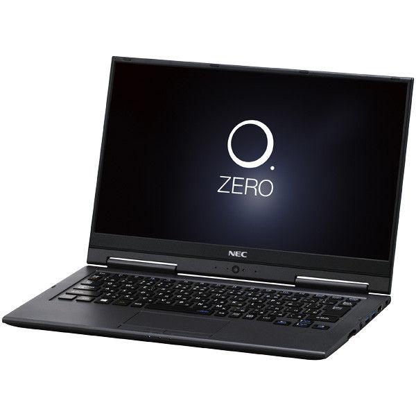 NECパーソナルコンピュータ LAVIE Hybrid ZERO ー HZ550/GAB メテオグレー PC-HZ550GAB 1台  (直送品)