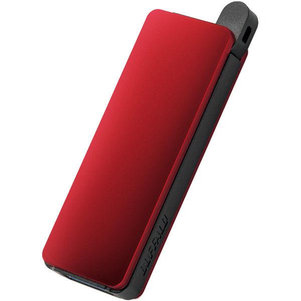 バッファロー オートリターン機構 USB3.0 USBメモリー 8GB レッド RUF3-PN8G-RD 1台  (直送品)