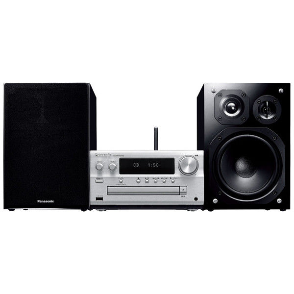 パナソニック CDステレオシステム (シルバー) SC-PMX150-S 1台  (直送品)