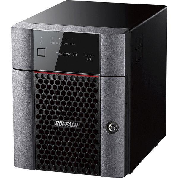 バッファロー TeraStation TS3410DNシリーズ 小規模オフィス・SOHO向け 4ドライブNAS 12TB TS3410DN1204  (直送品)