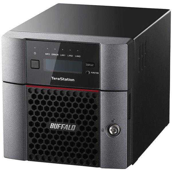 バッファロー TeraStation TS5210DNシリーズ 10GbE標準搭載 法人向け 2ドライブNAS 4TB TS5210DN0402  (直送品)