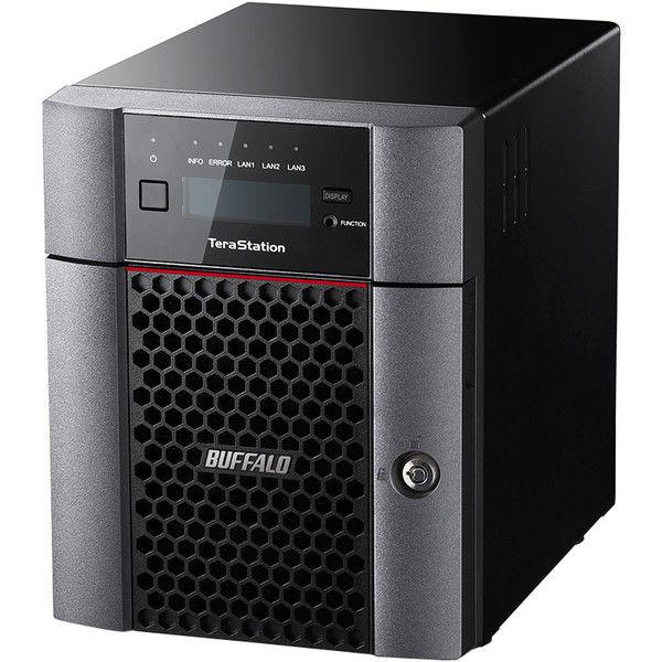 バッファロー TeraStation TS5410DNシリーズ 10GbE標準搭載 法人向け 4ドライブNAS 12TB TS5410DN1204  (直送品)