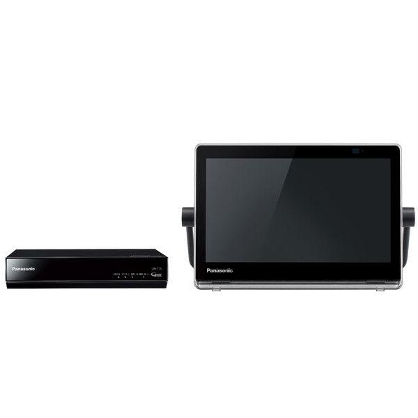 パナソニック HDDレコーダー付ポータブル地上・BS・110度CSデジタルテレビ 10V型 (ブラック) UN-10T7-K 1台  (直送品)