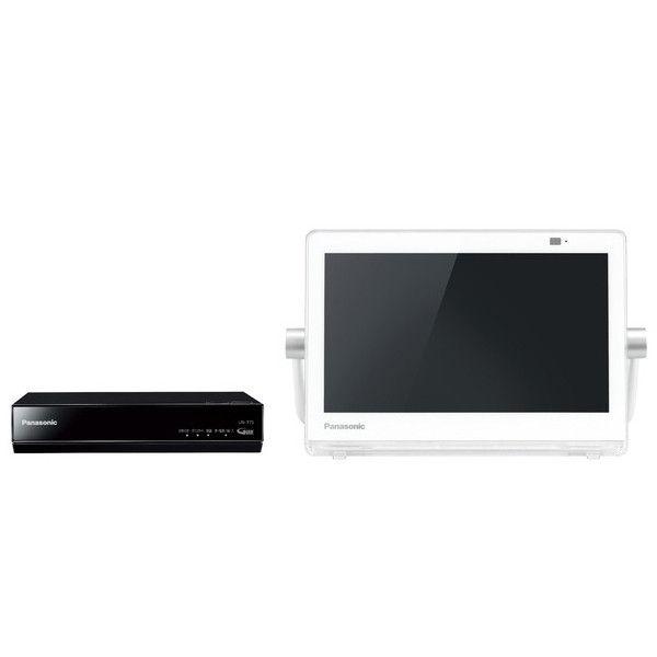 パナソニック HDDレコーダー付ポータブル地上・BS・110度CSデジタルテレビ 10V型 (ホワイト) UN-10T7-W 1台  (直送品)