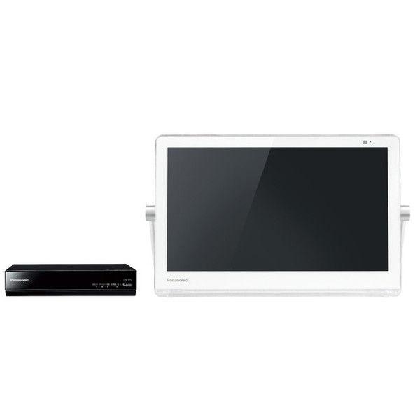 パナソニック HDDレコーダー付ポータブル地上・BS・110度CSデジタルテレビ 15V型 (ホワイト) UN-15T7-W 1台  (直送品)